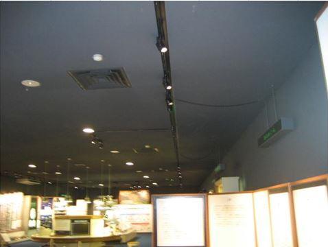 岐阜県博物館展示室LED化工事 after2