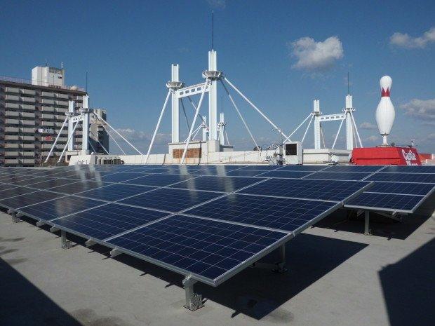 名古屋市Cビル屋上太陽光発電システム築造工事 after1