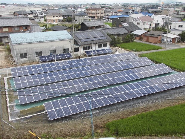 S様休耕田太陽光発電システム築造工事aftere1