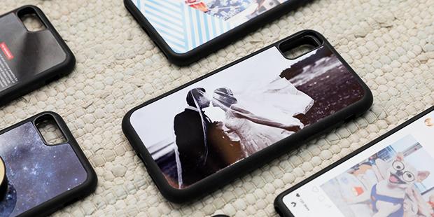 自分で撮った写真でオリジナルデザインで作れるiPhoneケース