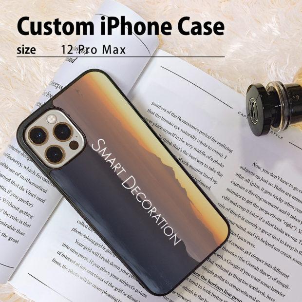 自分の好きな写真やデザインで作れるiPhone 12 Pro Maxケース(iPhoneカバー)